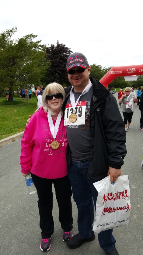 Sheena and Jeff King at the 2015 Health Care Foundation Dialysis Dash