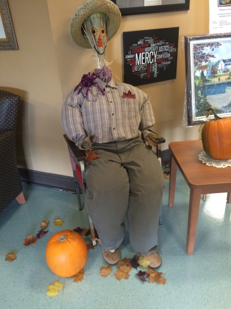 The Friendly Scarecrow of St. Patrick's Mercy Home