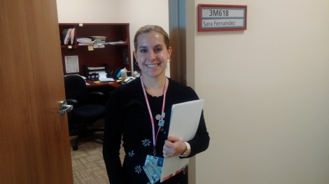 Sara Fernandez, newborn screening coordinator with Eastern Health
