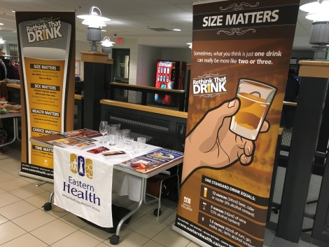 Rethink That Drink visits MUN