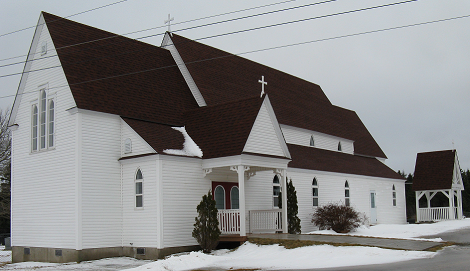 St. Michael and All Angels' Anglican Church in Creston South, NL