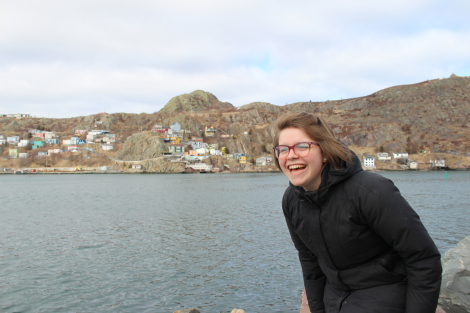 Visiting the harbour, St. John's, 2018