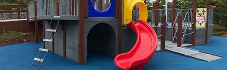 Janeway Play Garden - Ship Play Structure
