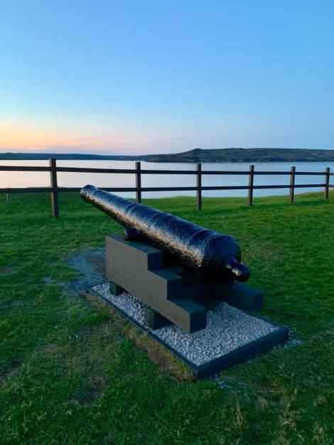 "The ""Waterford Cannon"" now sits atop the Battery in the community of St. Mary's. (Photo credit: David Fagan)"