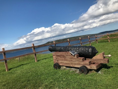 In recent years, only one cannon has stood guard at the Battery in St. Mary's.